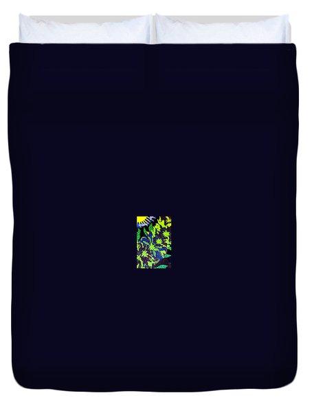 Summer Bloom Duvet Cover by Jonathon Hansen