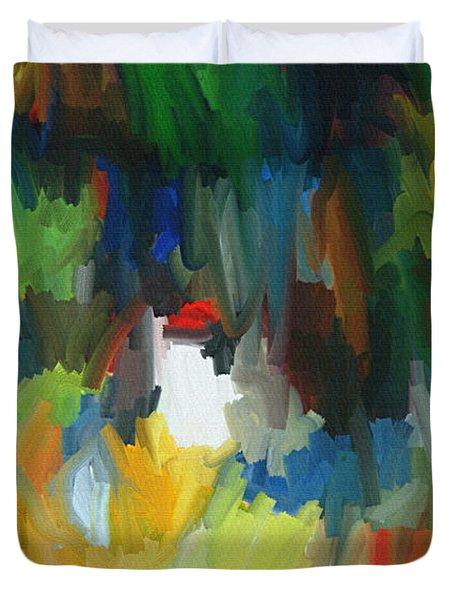Summer Garden Duvet Cover by Thomas Bryant