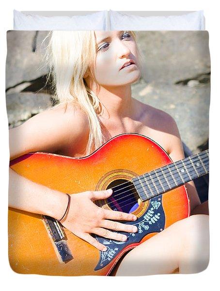 Summer Serenade  Duvet Cover