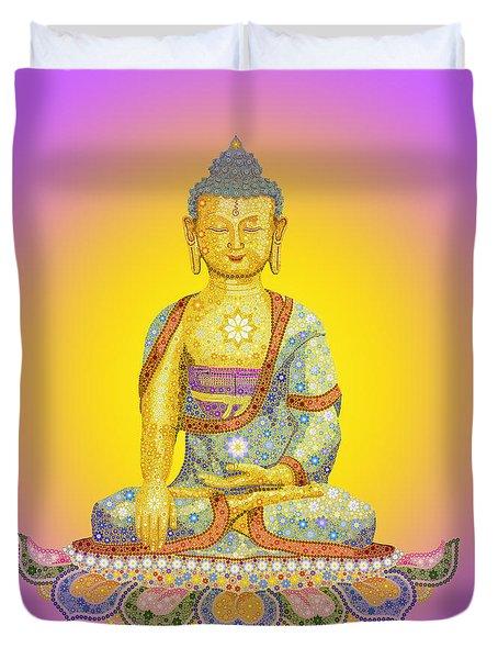 Sun Buddha Duvet Cover