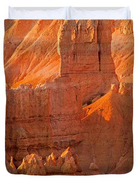 Sunrise At Sunset Point Bryce Canyon National Park Duvet Cover