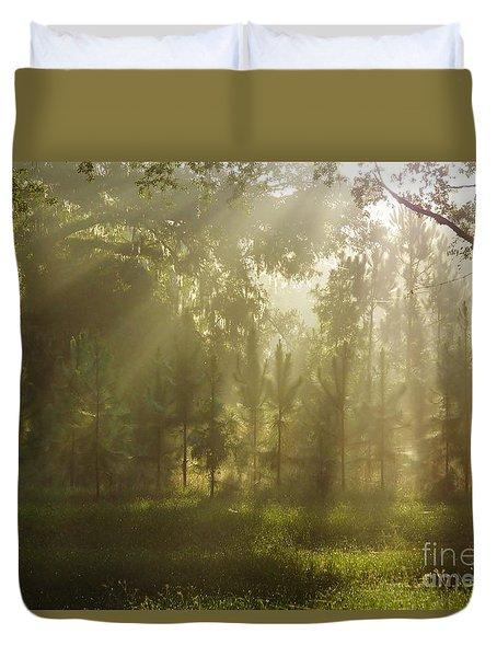 Sunshine Morning Duvet Cover