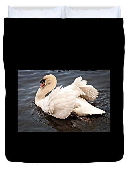 Swan One Duvet Cover