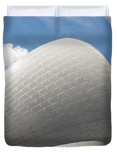 Sydney Opera House Detail In Australia Duvet Cover