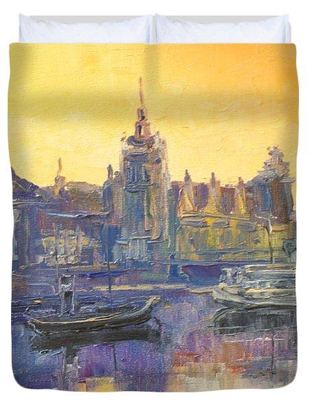 Szczecin - Poland Duvet Cover
