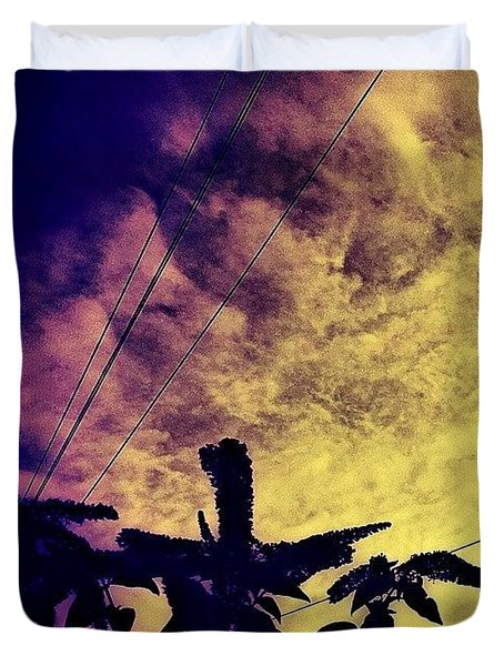 Dramatic Sky Duvet Cover by Jason Michael Roust
