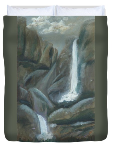 Tears Of The Moon Duvet Cover