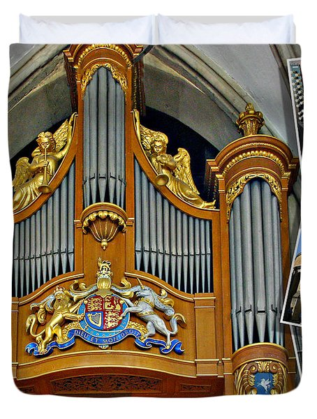Temple Church London Duvet Cover