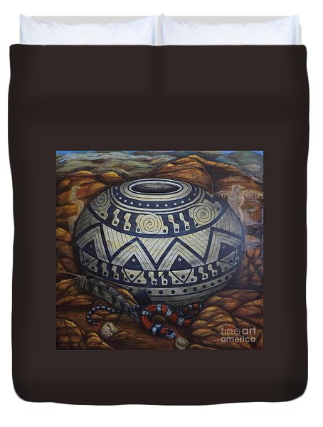 Temptations Duvet Cover