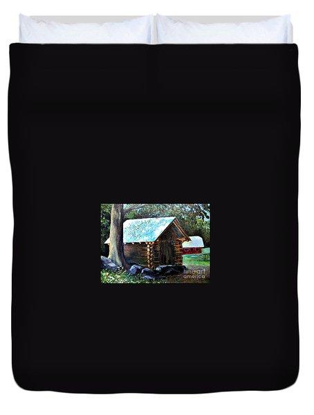 Tessentee Cabin Duvet Cover
