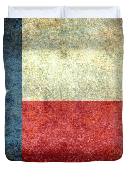 Texas The Lone Star State Duvet Cover
