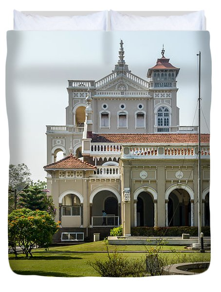 The Aga Khan Palace Duvet Cover by Kiran Joshi