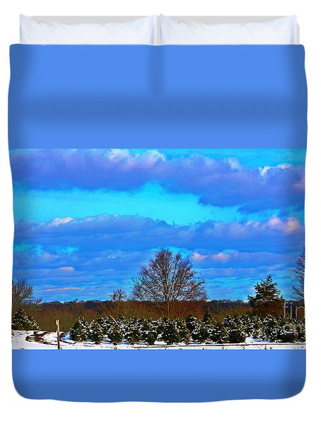 Duvet Cover featuring the photograph The Beauty Of Nature by Judy Palkimas
