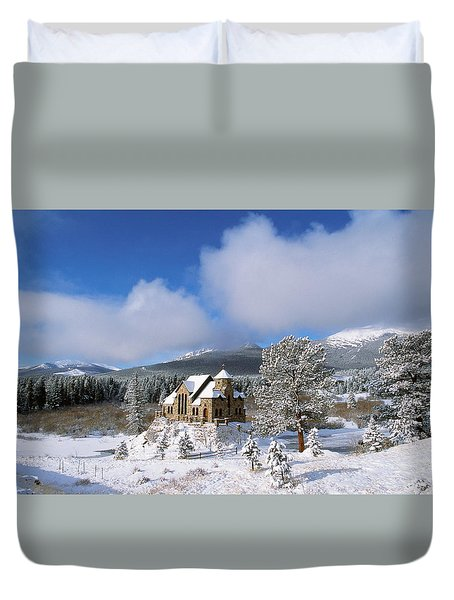The Chapel On The Rock I Duvet Cover by Eric Glaser