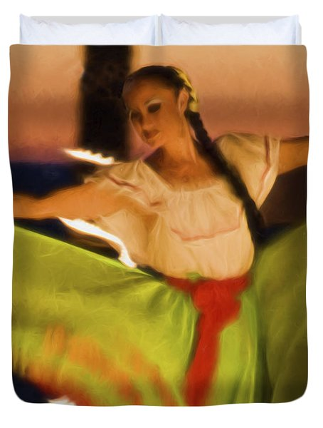 The Dancer  ... Duvet Cover