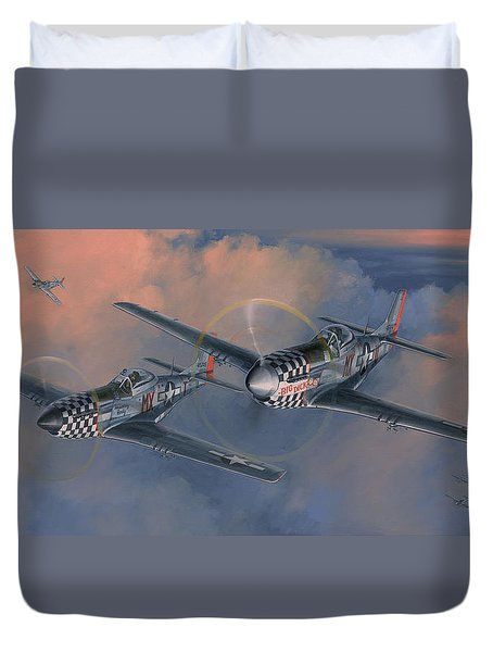 The Duxford Boys Duvet Cover by Wade Meyers