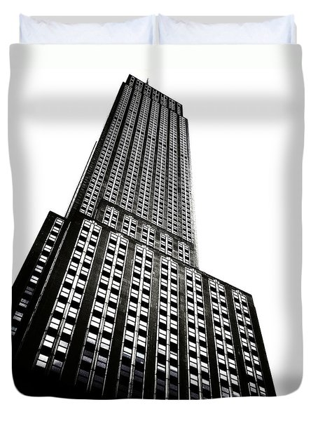 The Empire State Building Duvet Cover by Natasha Marco
