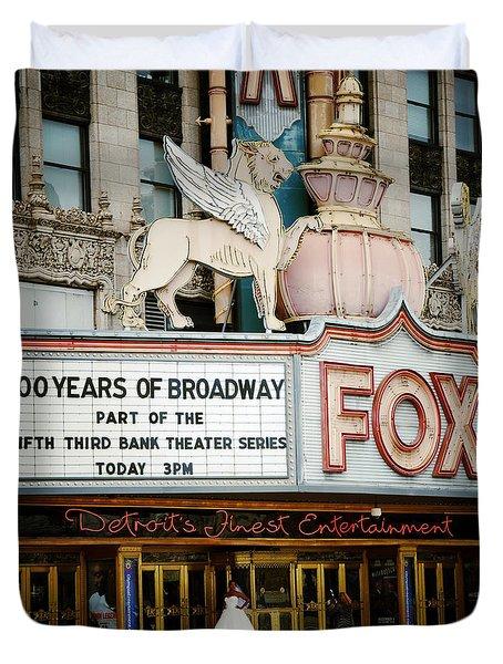 The Fox Theatre Duvet Cover