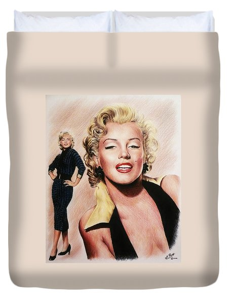 The Glamour Days Marilyn Monroe Duvet Cover