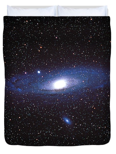 The Great Andromeda Galaxy Duvet Cover