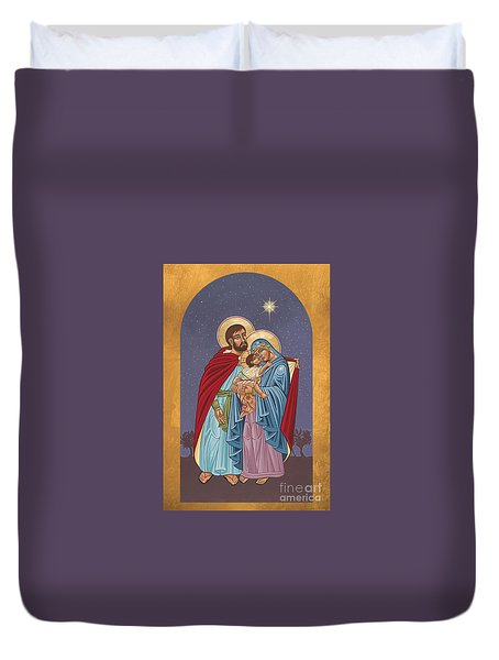The Holy Family For The Holy Family Hospital Of Bethlehem 272 Duvet Cover