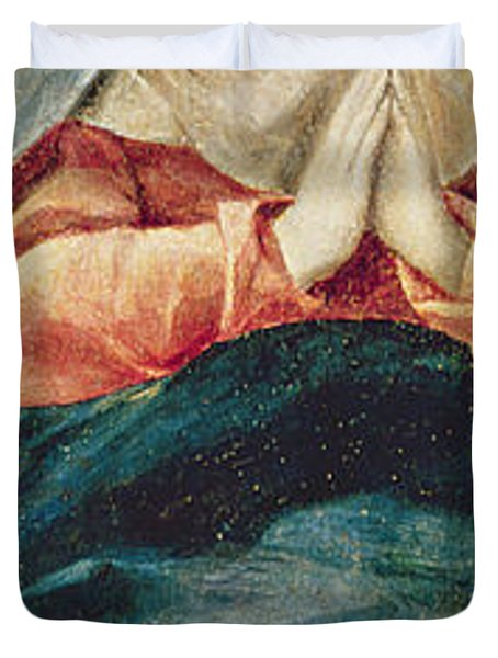 The Immaculate Conception  Duvet Cover by El Greco Domenico Theotocopuli