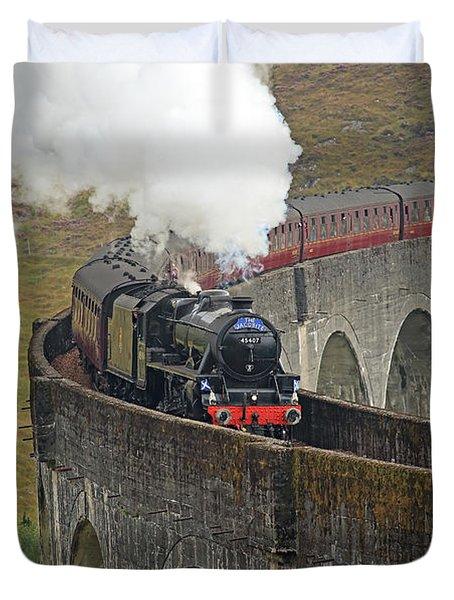 The Jacobite Steam Train Duvet Cover