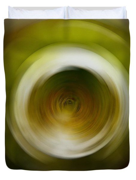 The Journey - Abstract Art By Sharon Cummings Duvet Cover by Sharon Cummings