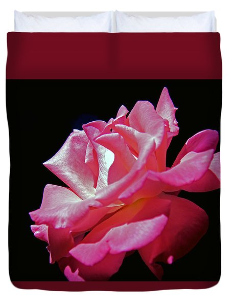 The Last Rose Of Summer Duvet Cover by Andy Lawless