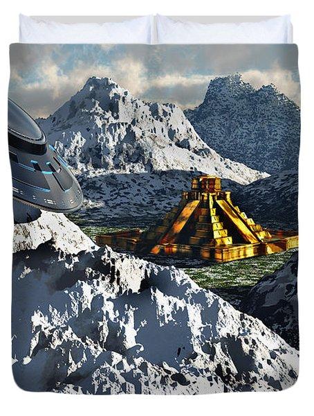 The Legendary South American Golden Duvet Cover by Mark Stevenson