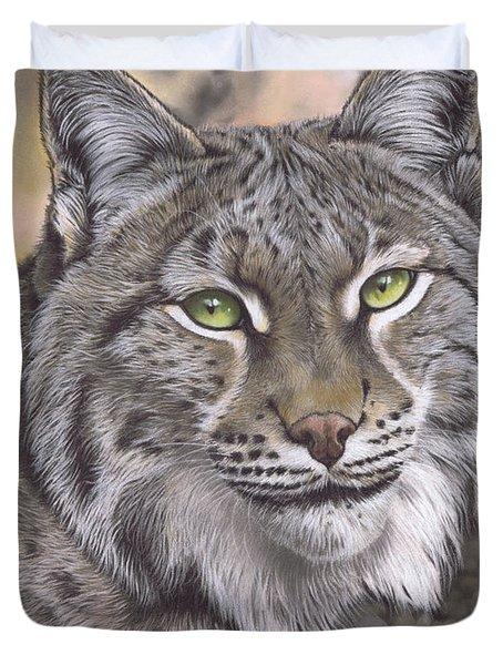 The Lynx Effect Duvet Cover
