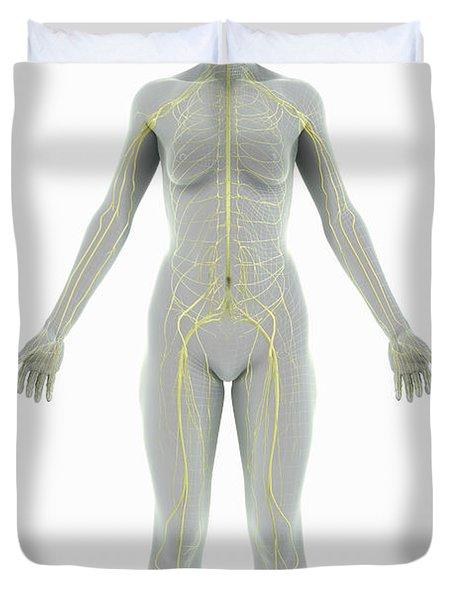 The Nervous System Female Duvet Cover
