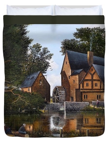 The Old Mill Duvet Cover