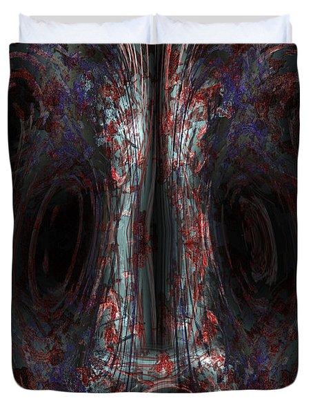 The Painter Duvet Cover by Christopher Gaston