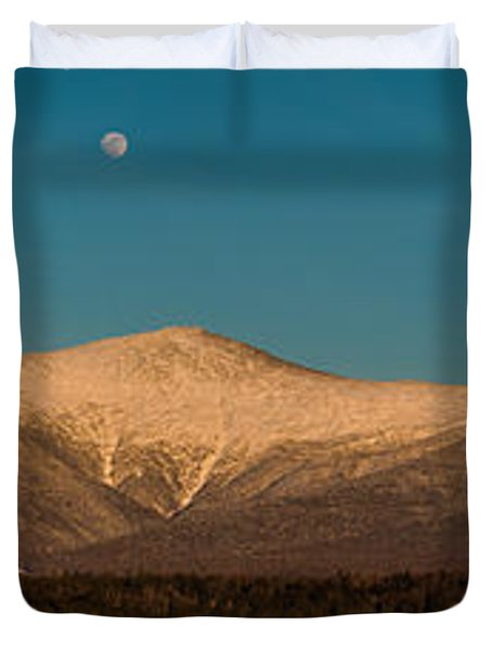 The Presidential Range White Mountains New Hampshire Duvet Cover by Brenda Jacobs