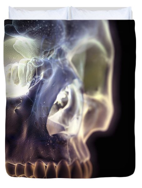 The Skull And Paranasal Sinuses Duvet Cover
