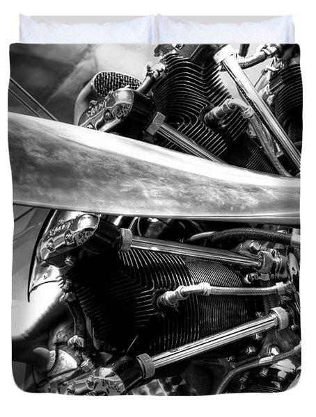 The Stearman Jacobs Aircraft Engine Duvet Cover