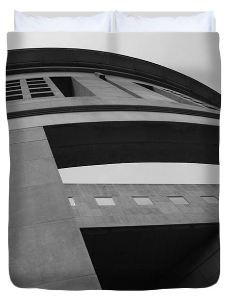 Duvet Cover featuring the photograph The United States Holocaust Memorial Museum by Cora Wandel