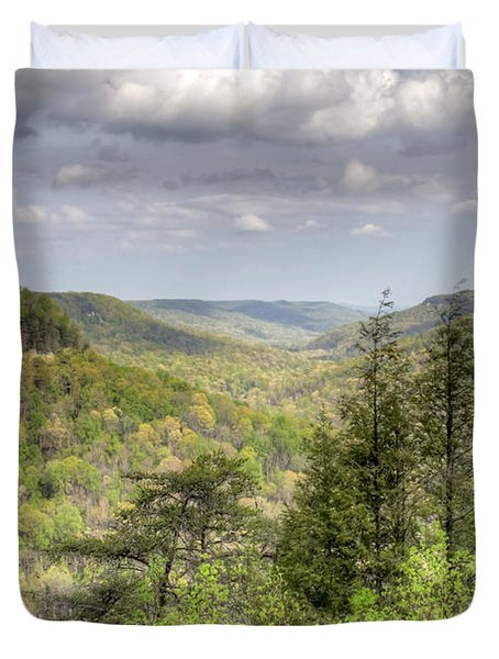 The Valley II Duvet Cover