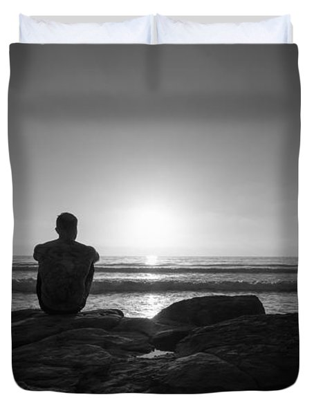 The View Wide Crop Duvet Cover