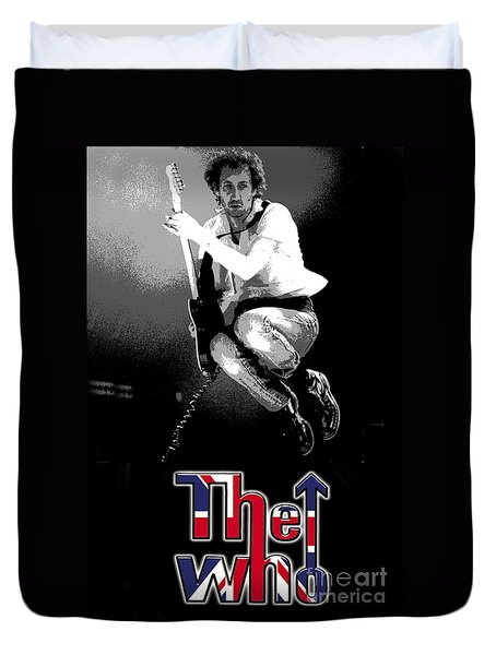 The Who Duvet Cover by Doc Braham