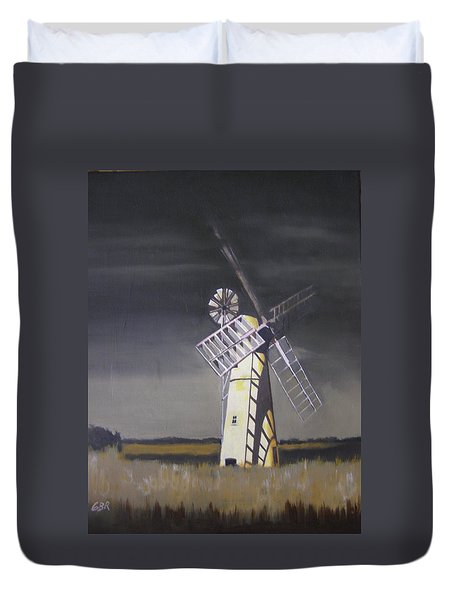 The Windmill Duvet Cover