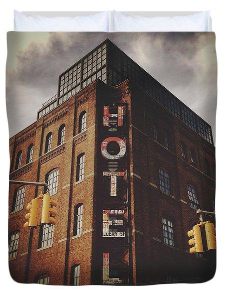 The Wythe Hotel Duvet Cover
