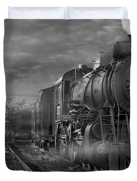 The Yard Duvet Cover by Mike McGlothlen