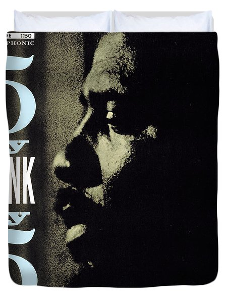 Thelonious Monk -  5 By Monk By 5 Duvet Cover