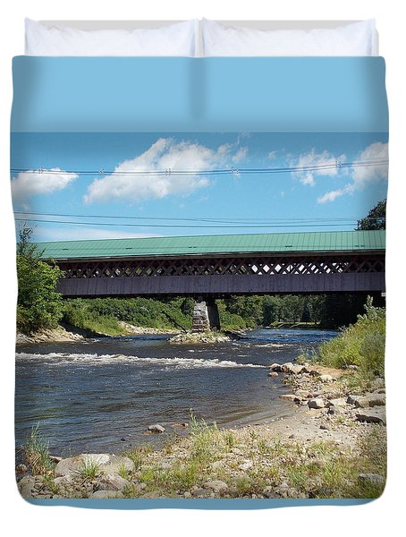 Thompson Bridge Duvet Cover