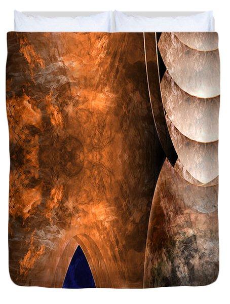 Throneroom Duvet Cover by Christopher Gaston
