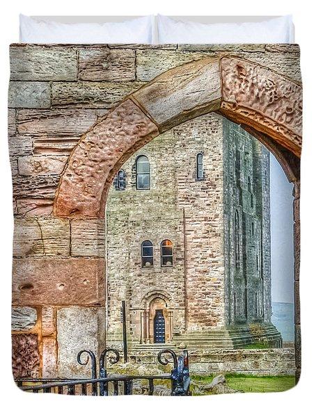 Through The Arch Duvet Cover