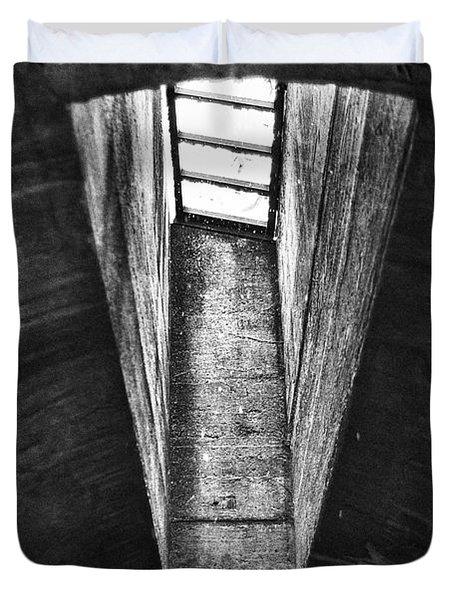 Through The Pane Duvet Cover by Scott Wyatt