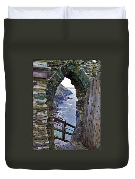 Tintagel Portal Duvet Cover
